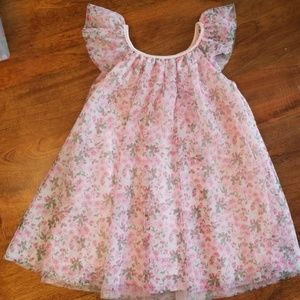 Other - Floral tulle special occasion dress